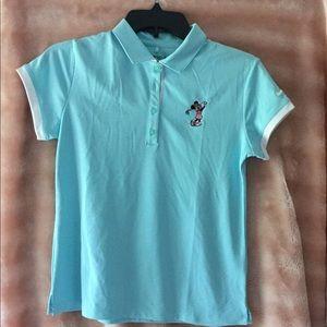 Girls Disney Golf Shirt